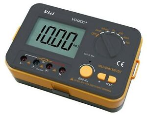 Vici Vichy Vc480c 3 1 2 Date Hold Digital Milli ohm Meter For Resistance