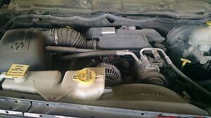 2006 Dodge Ram 5 7l Hemi Engine Non mds Transmission Complete Pull Out 2wd
