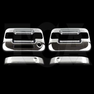For Ford F 150 F150 2004 2014 Chrome 2 Door Handle Covers W Opsk W Keypad 2013
