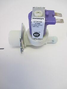Selonied Inlet Valve For Coffee Cappuccino Machines 24v Dc Invensys 015