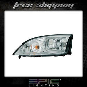 Fits 2005 07 Ford Focus Zx4 Headlight Headlamp Left Driver Only