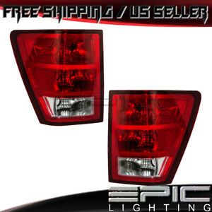 2005 2006 Jeep Grand Cherokee Brake Taillights Taillamps Left Right Sides Pair