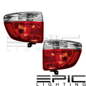 Outer Rear Brake Tail Lights For 2011 2013 Dodge Durango Left Right Sides Pair