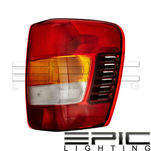 Right Passenger Side Rh Rear Brake Tail Light For 2002 2004 Jeep Grand Cherokee