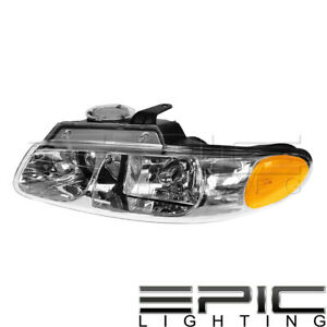 2000 Dodge Caravan Chrysler Town Country Voyager Headlight Left Driver Lh