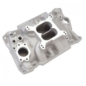 Edelbrock 2111 Performer Intake Manifold For 85 95 3 8 4 3l Chevy 90 Degree V6