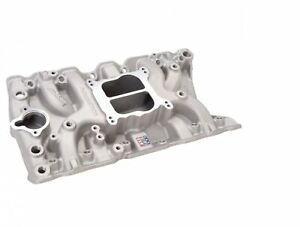 Edelbrock 2711 Performer Olds 350 Intake Manifold For 307 403 Oldsmobile V8