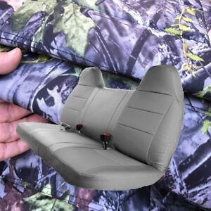 F series F23 Automotive 10mm Thick Camo Bench Seat Cover Molded Headrest