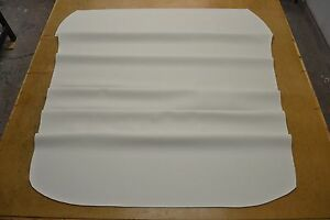 1969 69 1970 70 1971 71 1972 72 Chevelle Ss Custom White Single Hole Headliner