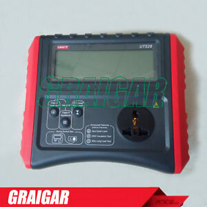 Ut528 Safety Testers Battery Powered Pat Meter Resistance Cord Leakage Test