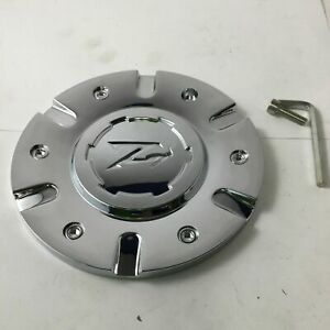 Zinik Z9 Sabini Wheel Center Cap Chrome Z 9 fwd Cap z090 5 7 8 Diameter Zk40