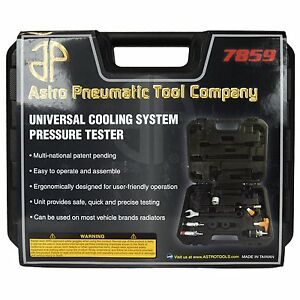 Universal Cooling System Pressure Tester New