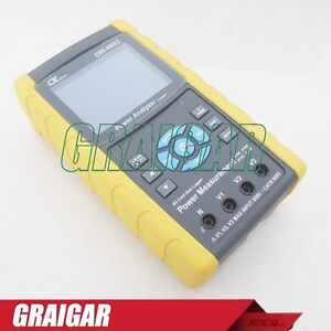 Lutron Dw 6092 Three Phase Power Meter Analyzer Tester Real Time Data Logger New