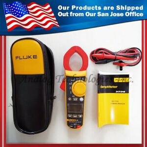 New Fluke F319 Digital Clamp Meter W Case 37mm 6000 Count Usa Seller
