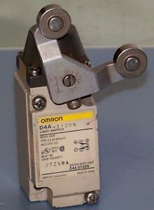 Omron D4a 1105n Limit Switch With Roller Arm Lever