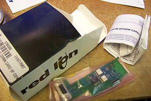 Nib Red Lion Panel Meter Optioncard For Dual Rate Totalizer Rs232 Serial Comm