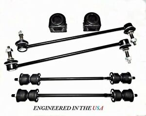 6pc Front rear Sway Bar Links Front Bushings Acadia Enclave Traverse Outlook