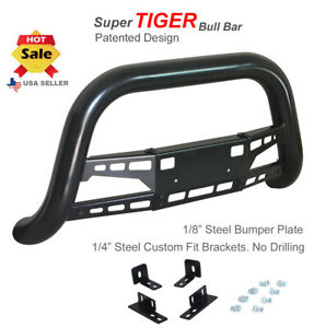 Classic Bull Bar 2005 15 Toyota Tacoma Push In Black Stainless Steel Open Box