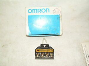 Omron E3c x2c Photoelectric Switch Adapter New In Box