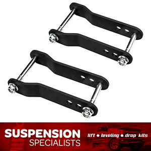 2 Rear Lift Shackle Kit For 2007 2020 Toyota Tundra