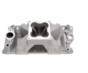 Edelbrock 2970 Super Victor 4500 Intake Manifold For 23 Heads Sb Chevy V8