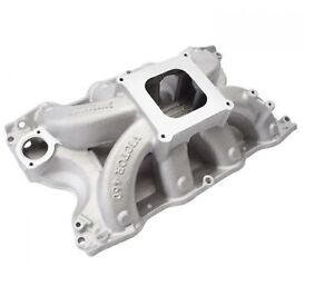 Edelbrock 2966 Victor 460 Intake Manifold For 429 460 Bb Ford V8