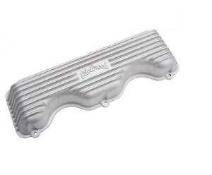 Edelbrock 41409 Classic Series Aluminum Valve Covers For 378 409 W series Chevy