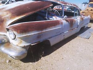 1956 Cadillac Coupe Deville Left Driver Fender With Inner Fender Oem