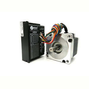 Leadshine Hybrid Nema34 Stepper Motor Drive Kit 4 5nm 18 80vdc 2ph For Cnc New