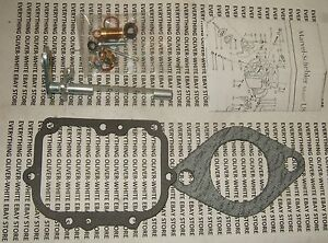 Oliver Tractor 1750 1800 1850 Gas Carburetor Repair Rebuild Kit Marvel Schebler