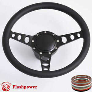 14 Billet Steering Wheels Black Dodge Challenger Charger Daytona