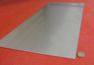 410 Stainless Steel Sheet 060 Thick X 12 Wide X 24 Length 1 Unit