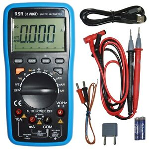 Digital Multimeter Autoranging With Usb
