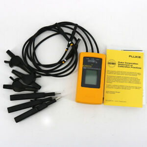 Fluke 9040 Phase Rotation Indicator F9040 3 Phase Sequence Meter Tester Lcd