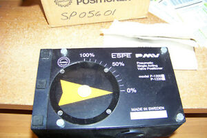 Nib Pmv P 1200 Pneumatic Single Acting Valve Positioner Rotary