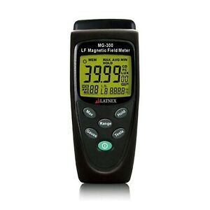 Mg 300 Elf Gauss And Emf Meter And Detector For Measuring Emf Radiation