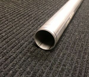 2 1 2 Stainless Steel Exhaust Straight Tubing 2 5 Outside Diameter 5 Long