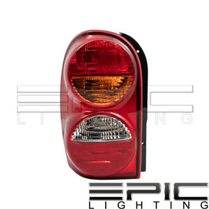 Right Passenger Side Rh Rear Brake Tail Lamp For 2002 2004 Jeep Liberty