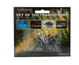 Transistor Assortment 100pcs Velleman K trans1