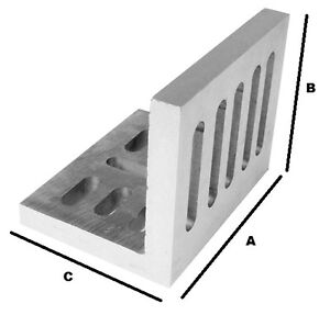 Slotted Angle Plates open End 6 X 5 X 4 1 2