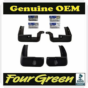 Genuine Parts Splash Guard Mud Guards Flaps For Hyundai Veloster 2011 2015