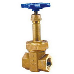 Nibco T 174 a Bronze 2 port Block Pattern Gate Valve 1 2
