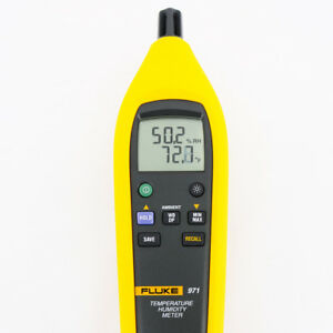 New Fluke 971 Indoor Thermo hygrometer Humidity Temperature Meter Ntc 99 Points