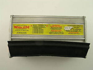 Whelen Dot 60 Strobe Power Supply Vdo 60 Joules sec used repaired