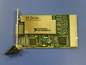 National Instruments Pxi 6254 Ni Daq Card Analog Input Multifunction