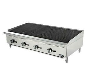 new Atosa Atcb 48 Hd 48 Char rock Char Grill Broiler Warranty