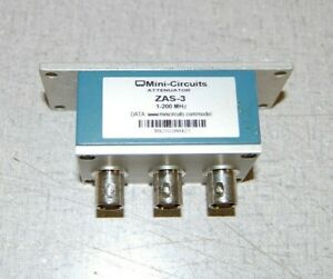 Mini circuits Zas 3 1 200 Mhz Attenuator 7302b