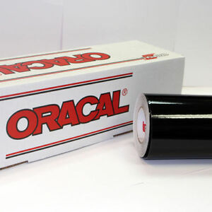 Black Glossy Oracal 651 1 Roll 24 X 30 Sign Cutting Vinyl