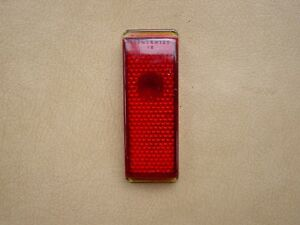 41 1941 Ford Tail Light Lens Duolamp 11a Glass Inventory Cool