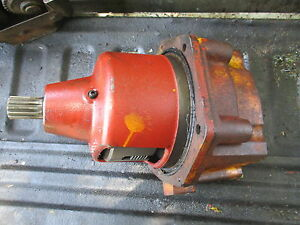 International 504 Industrial Gas Tractor 540 Pto Gear Hub Assembly Free Shippin